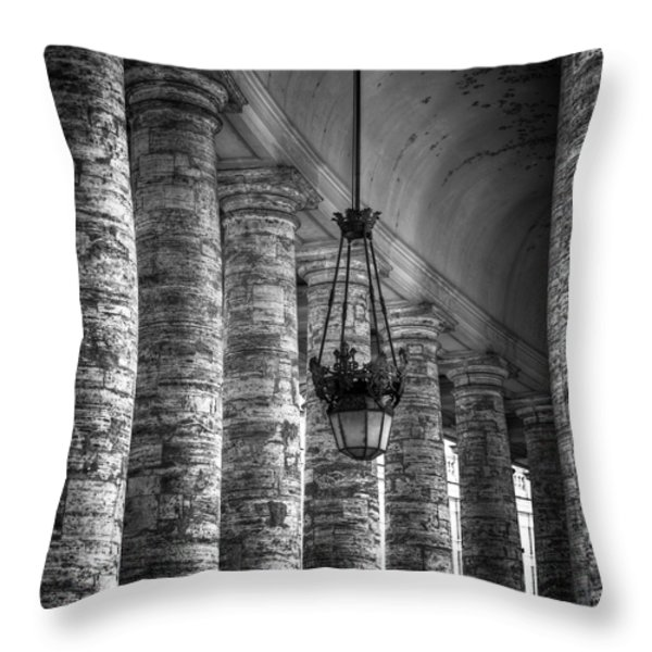 portico Throw Pillow by Joana Kruse