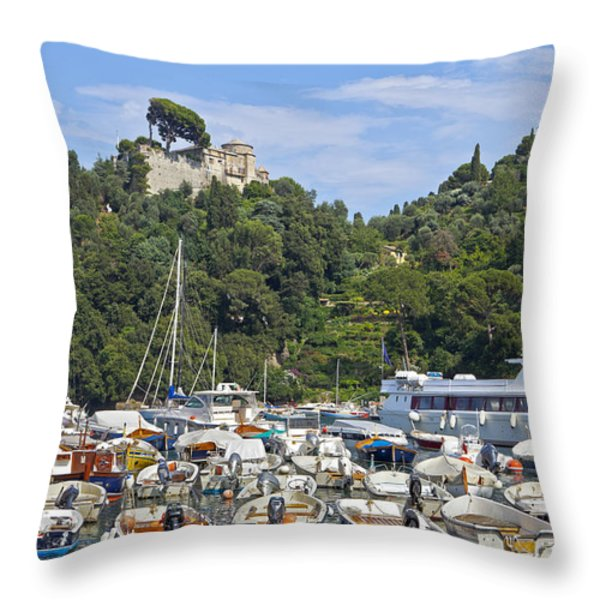 Portofino Throw Pillow by Joana Kruse