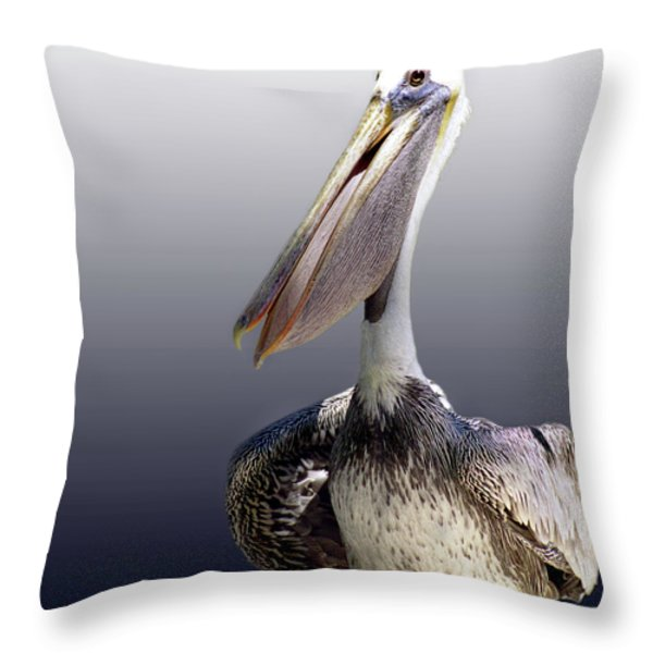 POUCHES Throw Pillow by Skip Willits