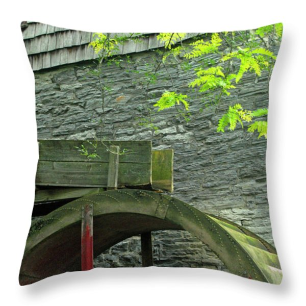 Power Before Electric Throw Pillow by Paul W Faust -  Impressions of Light