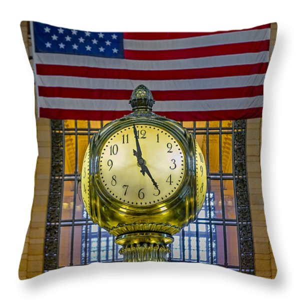 Precious Time And Colors Throw Pillow by Susan Candelario