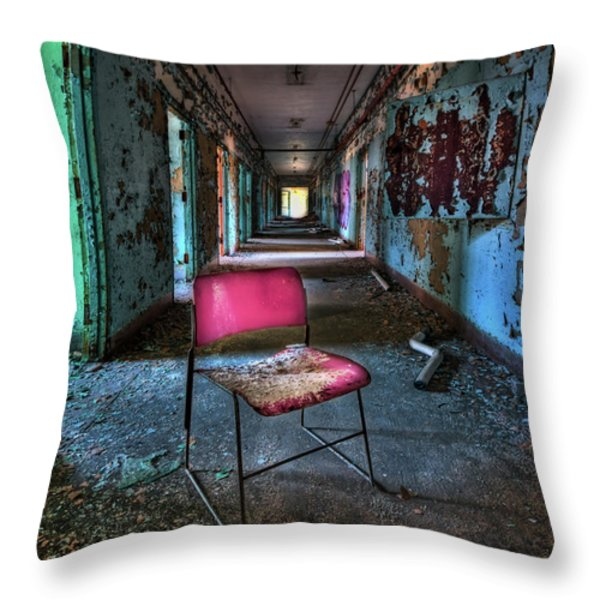 Presence Throw Pillow by Evelina Kremsdorf