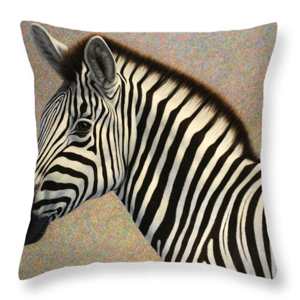 Principled Throw Pillow by James W Johnson