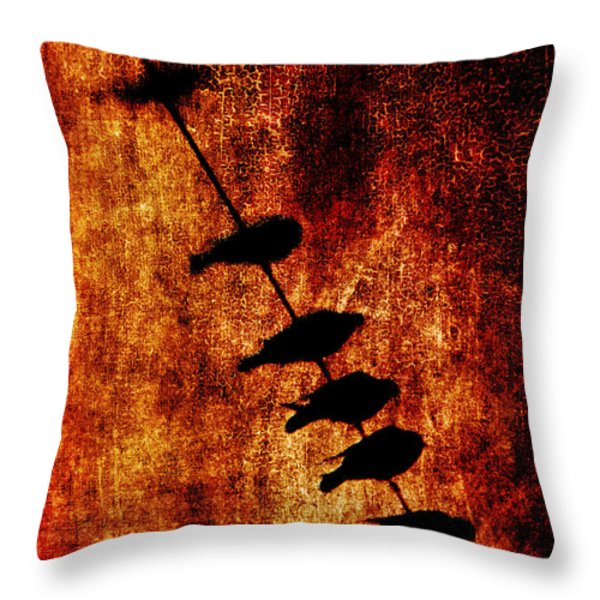 Prophets Throw Pillow by Andrew Paranavitana