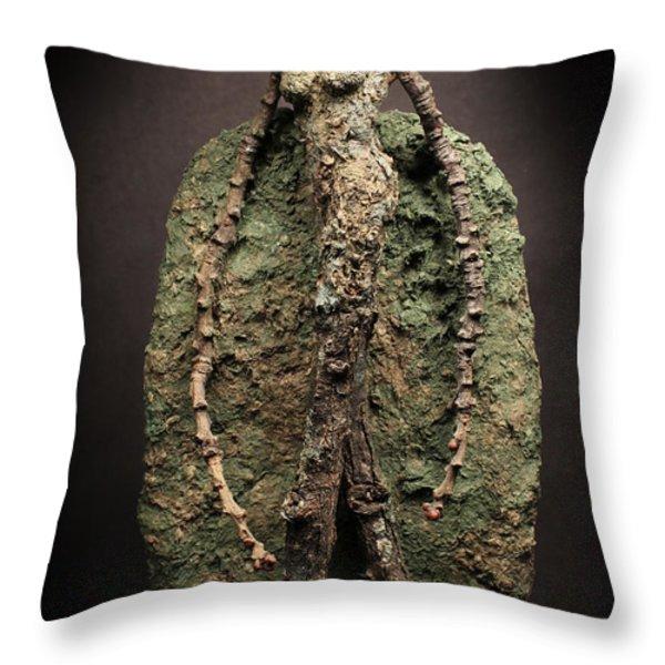 Pulcher Throw Pillow by Adam Long