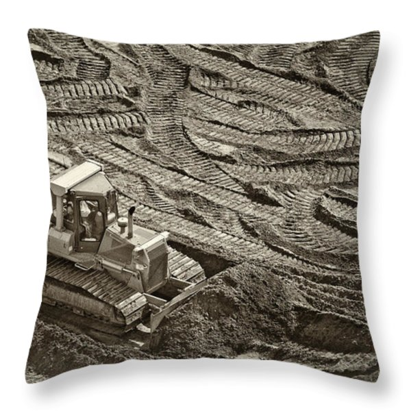 Push It Throw Pillow by Patrick M Lynch