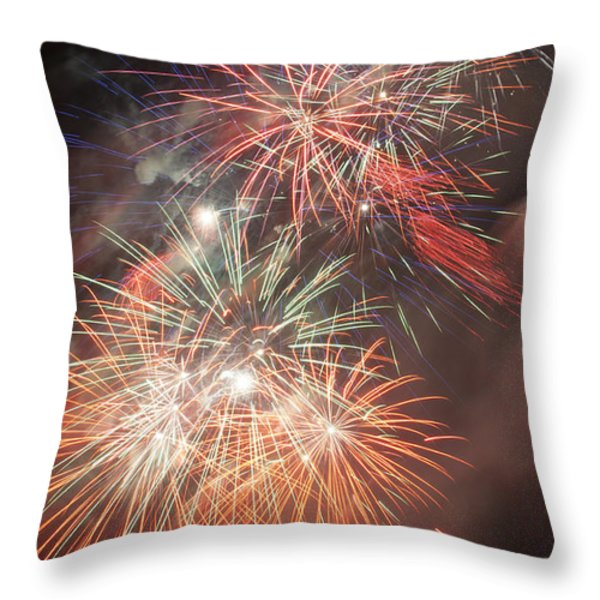 Pyros Dream Throw Pillow by Glenn Gordon