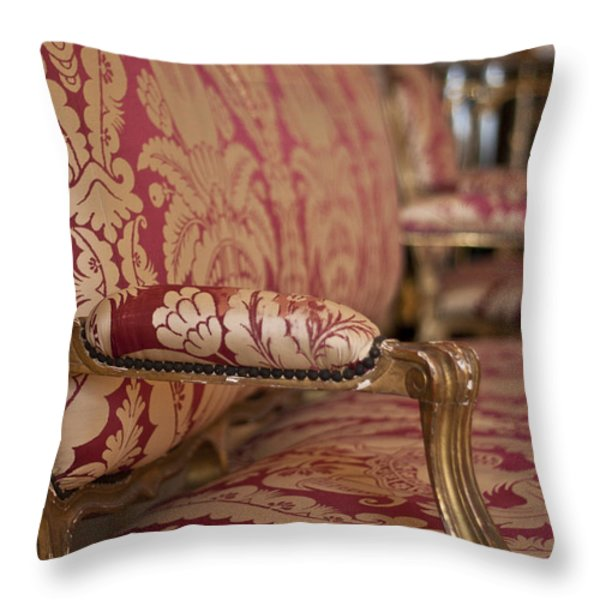 Queen's Apartments - Let Them Sit Throw Pillow by Nomad Art And  Design