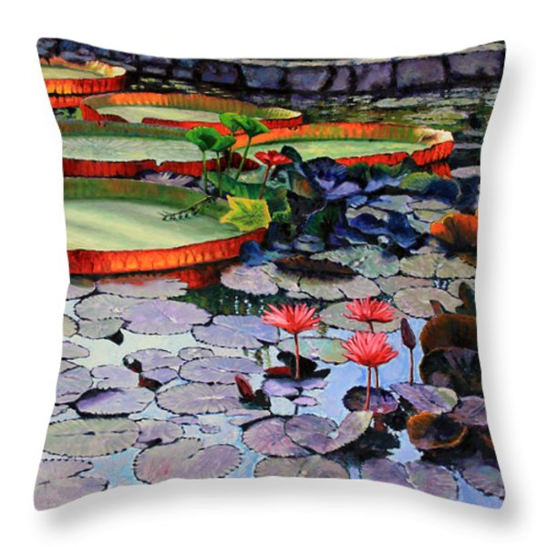 Quiet Moments Throw Pillow by John Lautermilch