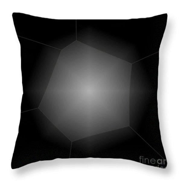 Radiance - Abstract Art Throw Pillow by Carol Groenen