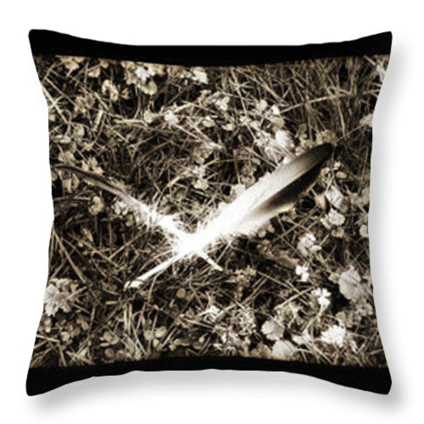 Rainy Day Geese Throw Pillow by Bill Cannon