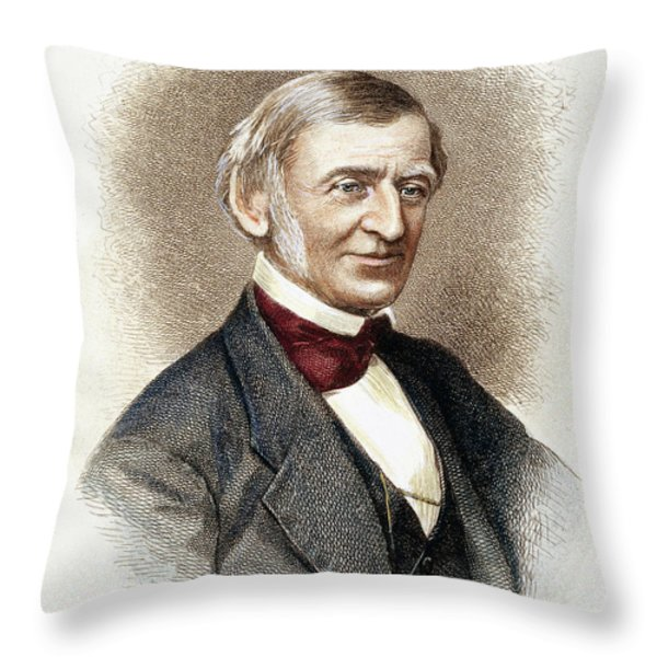 Ralph Waldo Emerson   Throw Pillow by Granger