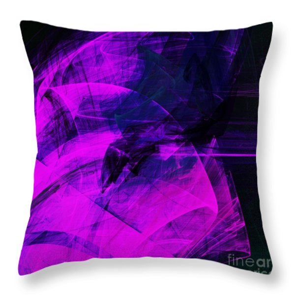 Rapture . A120423.936 Throw Pillow by Wingsdomain Art and Photography