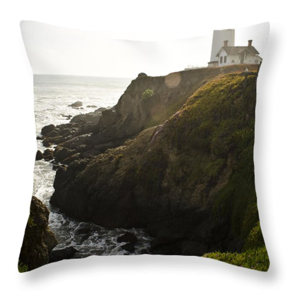 Ray Of Light Throw Pillow by Heather Applegate