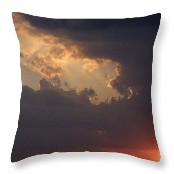 Reach For The Sky 5 Throw Pillow by Mike McGlothlen