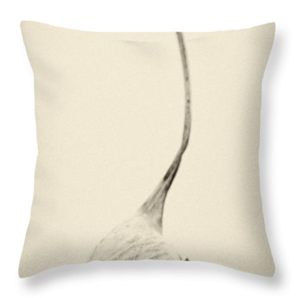 Reaching For The Sky Throw Pillow by Stelios Kleanthous