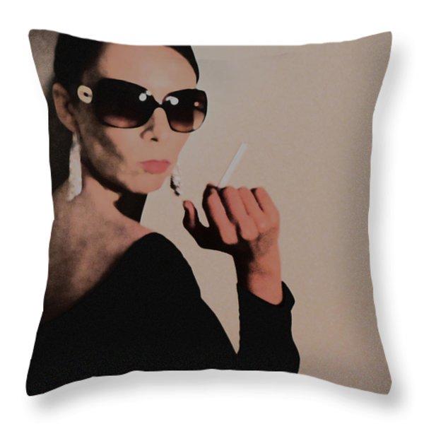 Reaction Throw Pillow by Naxart Studio