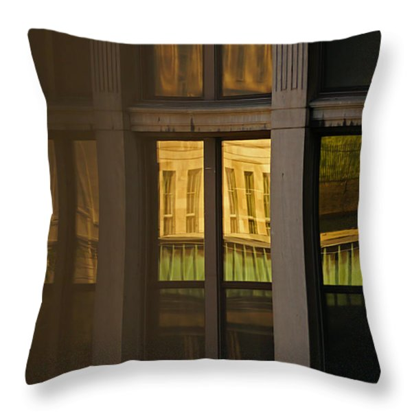 Reflected Throw Pillow by Aimelle