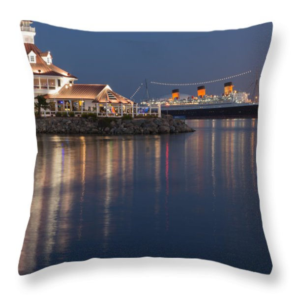 Reflections Of Summer Throw Pillow by Heidi Smith