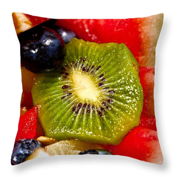 Refreshing Throw Pillow by Christopher Holmes
