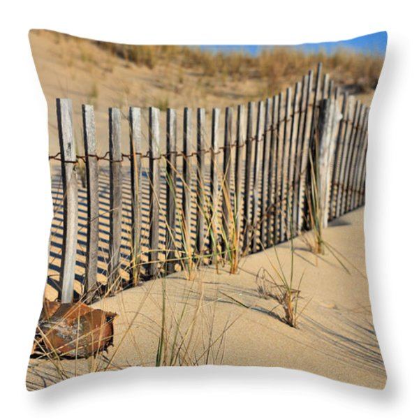 Rehoboth Beach Throw Pillow by JC Findley