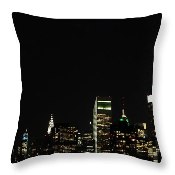 Remember September 11th Throw Pillow by Catie Canetti