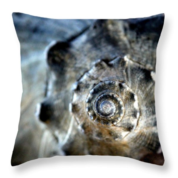 Remember the Sea with Me Throw Pillow by KAREN WILES