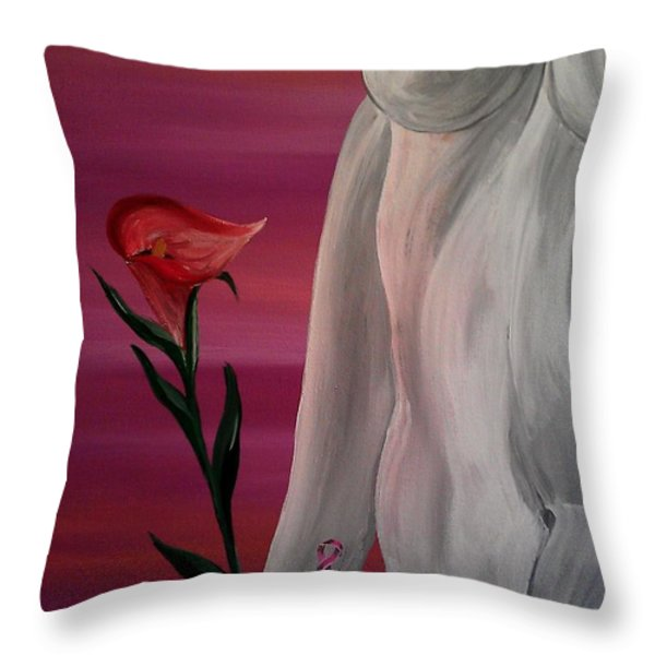 Remembering Clare Throw Pillow by Mark Moore