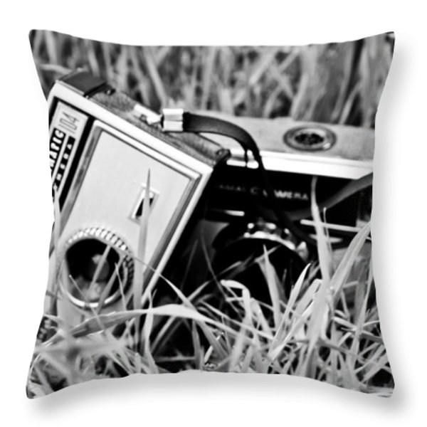 Remembering the way it was Throw Pillow by Nomad Art And  Design