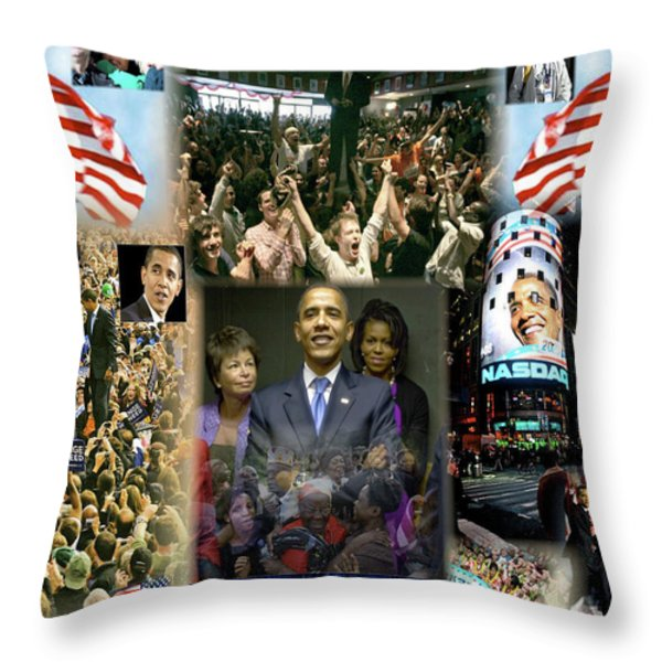 Respectfully Yours..... Mr. President 2 Throw Pillow by Terry Wallace