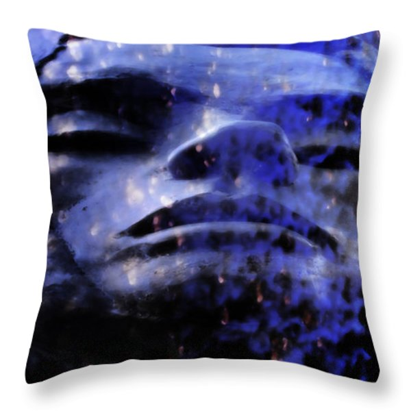 Rest Throw Pillow by Angelina Vick