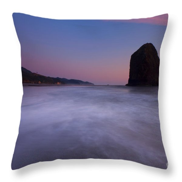 Rising Tide Throw Pillow by Mike  Dawson