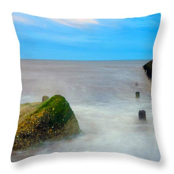 Rock Throw Pillow by Svetlana Sewell
