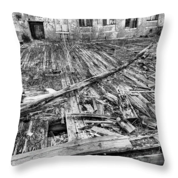 Roger Was Here Throw Pillow by JC Findley