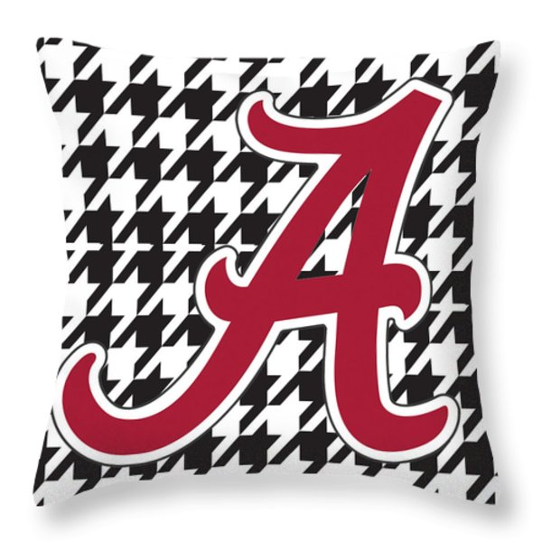Roll Tide Mini Canvas Throw Pillow by Greg Sharpe