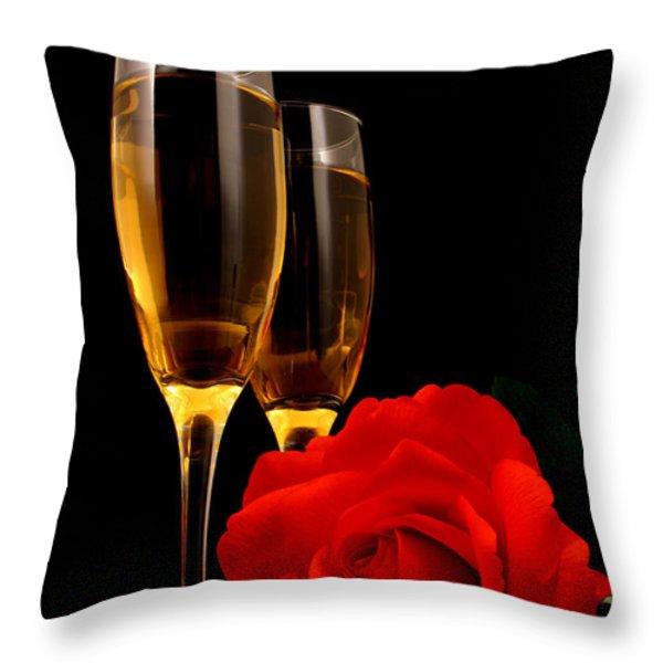 Romance Throw Pillow by Darren Fisher