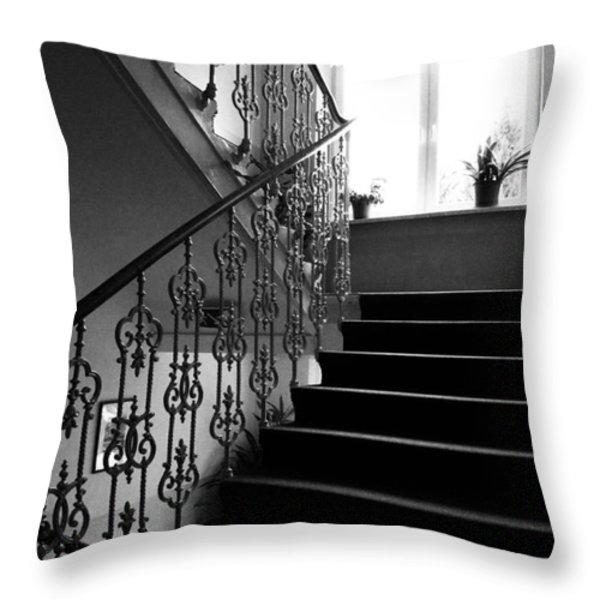 Room With A View Throw Pillow by Linda Woods