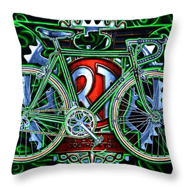Rotrax Throw Pillow by Mark Howard Jones