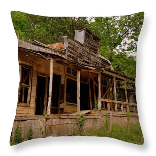 Rush General Store Throw Pillow by Marty Koch