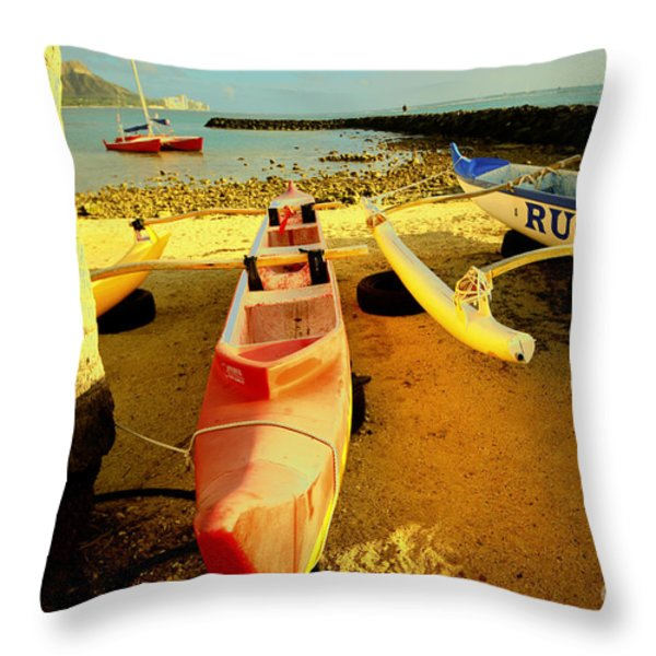 Russ K Throw Pillow by Cheryl Young
