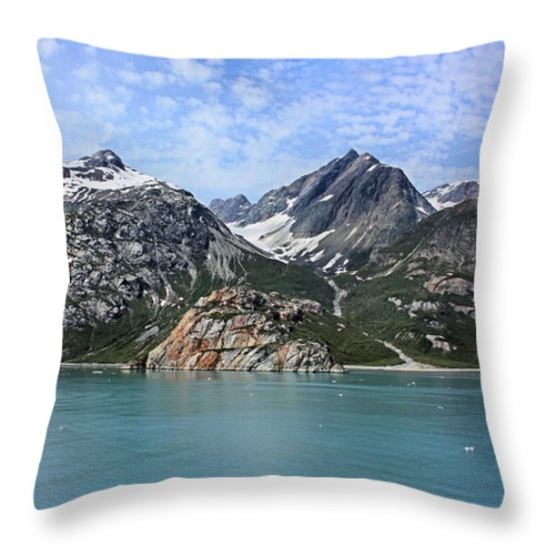 Russell Island Throw Pillow by Kristin Elmquist