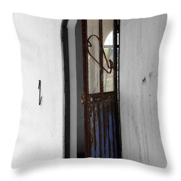 Rust Throw Pillow by Cheryl Young