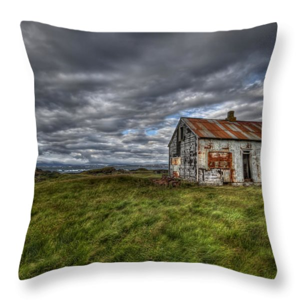 Rust In Peace Throw Pillow by Evelina Kremsdorf