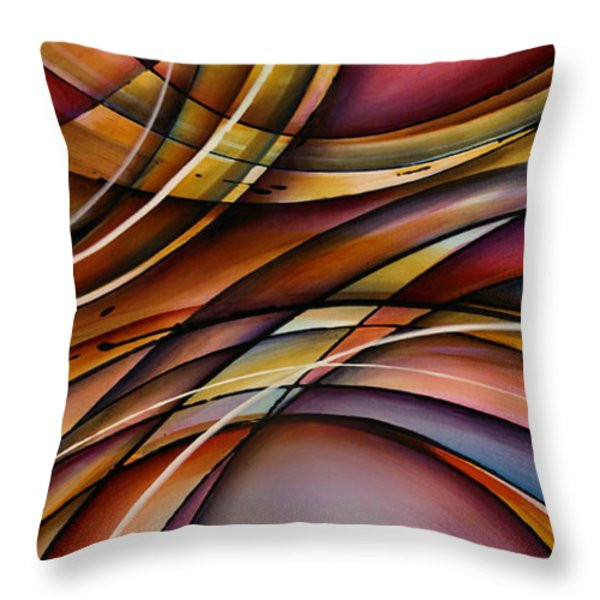 'sails' Throw Pillow by Michael Lang