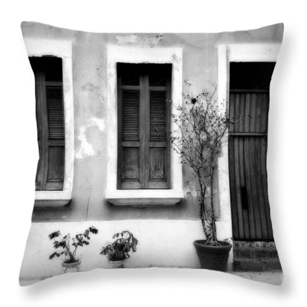 San Juan Living 2 Throw Pillow by Perry Webster