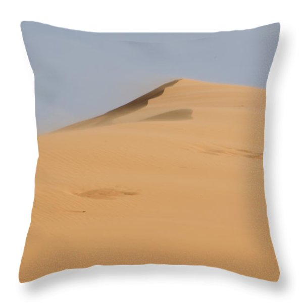 Sand Dune Throw Pillow by Heather Applegate