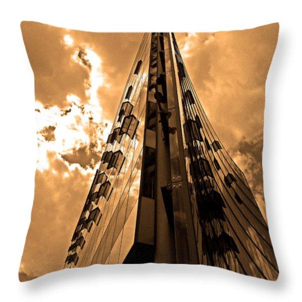 Sanofi - Aventis Berlin Throw Pillow by Juergen Weiss
