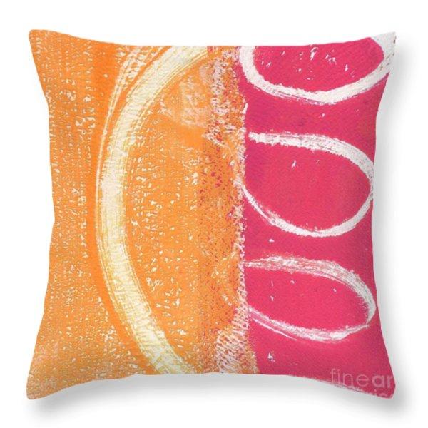 Sante Fe Sunrise Throw Pillow by Linda Woods