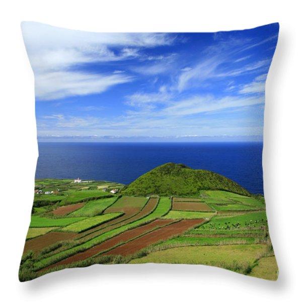 Sao Miguel - Azores islands Throw Pillow by Gaspar Avila