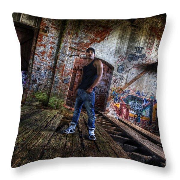 Saurabh2 Throw Pillow by Yhun Suarez
